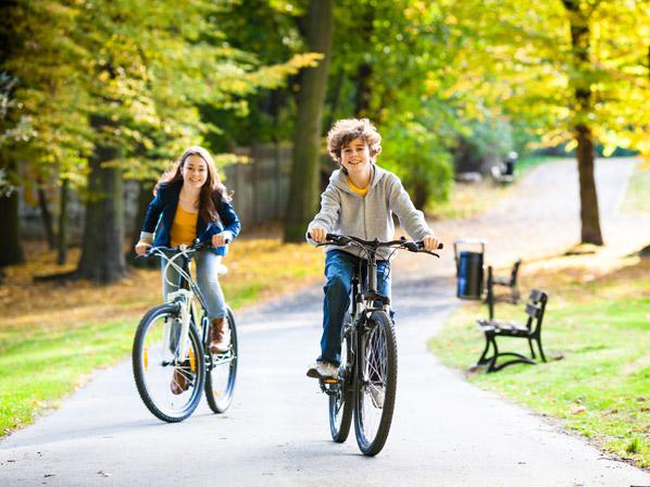 Niños-en-bicicleta